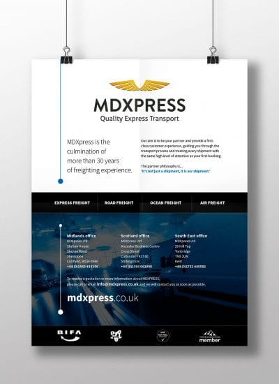 MDXpress advert